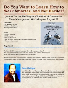 Updated Flyer Time Management 81415